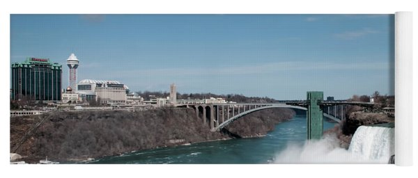 Niagara Falls New York Yoga Mat