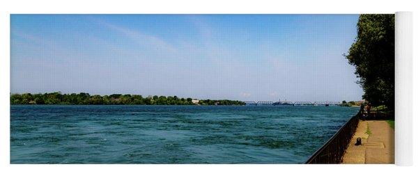 Niagara River View Yoga Mat