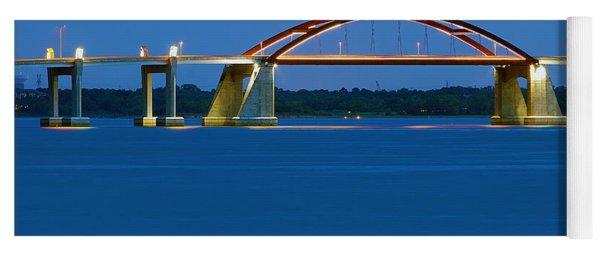 Night Bridge Yoga Mat