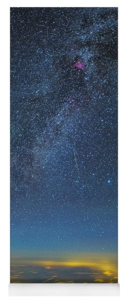 Night Flight Yoga Mat
