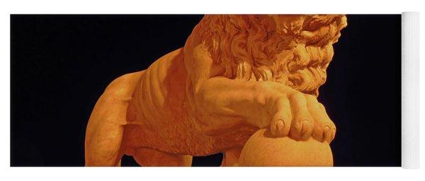 Night Of The Lion Yoga Mat