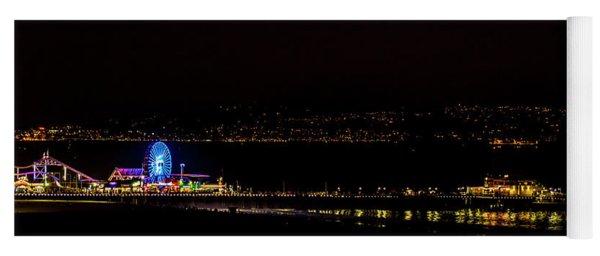 Santa Monica Pier Light Show - Series 3 Yoga Mat