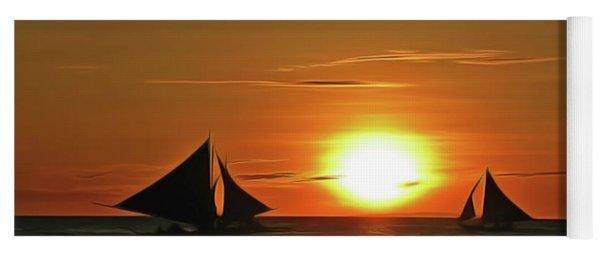 Night Sail Yoga Mat