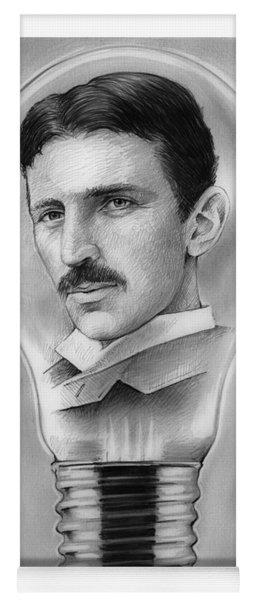 Nikola Tesla Yoga Mat