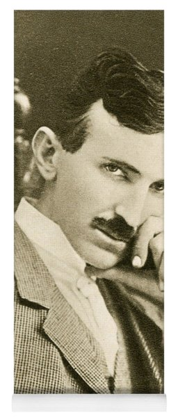 Nikola Tesla, Serbian-american Inventor Yoga Mat