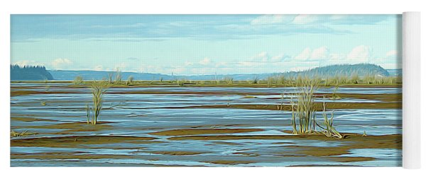 Nisqually Looking North Yoga Mat