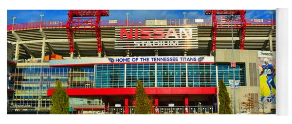 Nissan Stadium Home Of The Tennessee Titans Yoga Mat