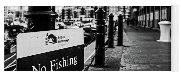 No Fishing Yoga Mat