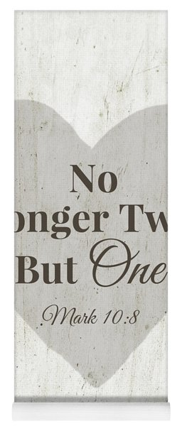 No Longer Two- Art By Linda Woods Yoga Mat
