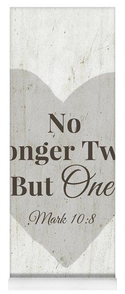 No Longer Two- Art By Linda Woods Yoga Mat