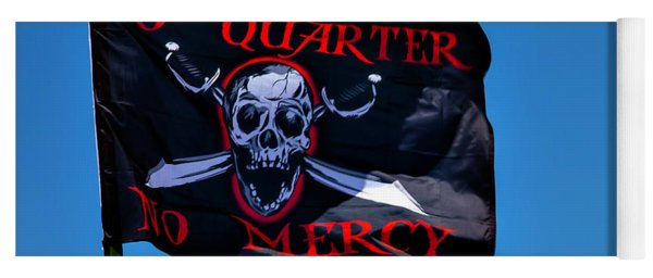 No Quarter No Mercy Yoga Mat
