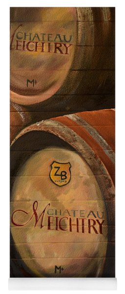 No Wine Before It's Time - Barrels-chateau Meichtry Yoga Mat