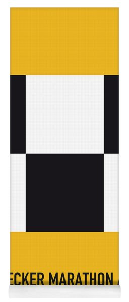 No002 My Taxi Driver Minimal Movie Car Poster Yoga Mat