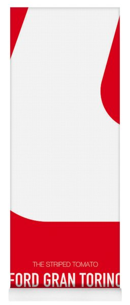 No003 My Starsky And Hutch Minimal Movie Car Poster Yoga Mat