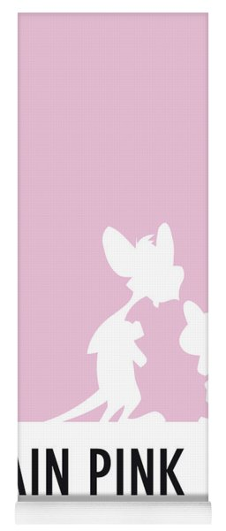 No01 My Minimal Color Code Poster Pinky And The Brain Yoga Mat