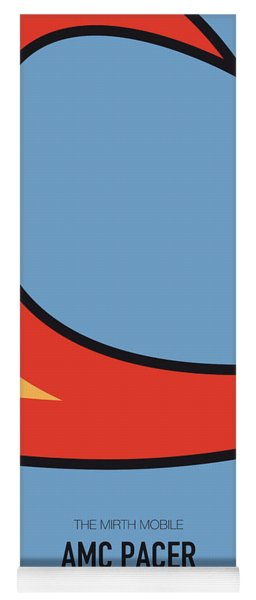 No010 My Waynes World Minimal Movie Car Poster Yoga Mat