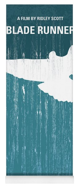 No011 My Blade Runner Minimal Movie Poster Yoga Mat