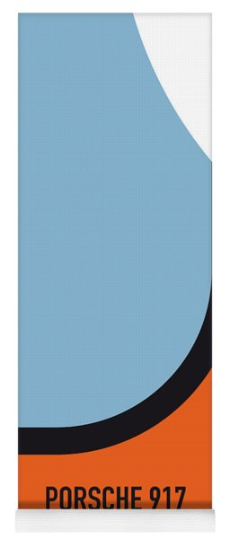 No016 My Le Mans Minimal Movie Car Poster Yoga Mat