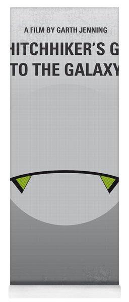 No035 My Hitchhiker Guide Minimal Movie Poster Yoga Mat