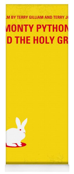 No036 My Monty Python And The Holy Grail Minimal Movie Poster Yoga Mat