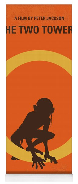 No039-2 My Lotr 2 Minimal Movie Poster Yoga Mat