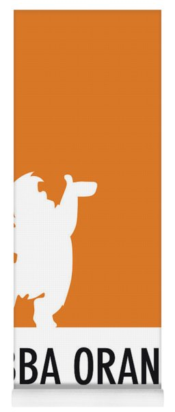 No04 My Minimal Color Code Poster Fred Flintstone Yoga Mat