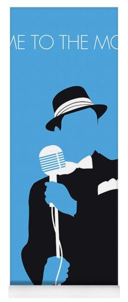 No059 My Sinatra Minimal Music Poster Yoga Mat