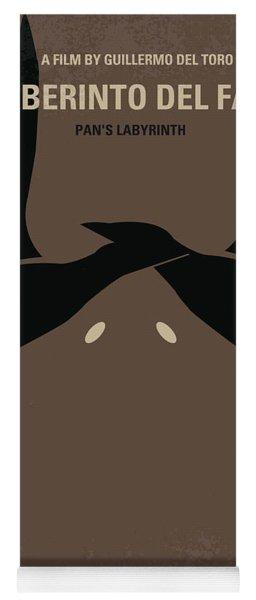 No061 My Pans Labyrinth Minimal Movie Poster Yoga Mat