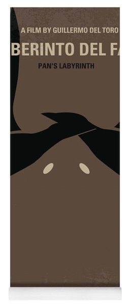 No061 My Pans Labyrinth Minimal Movie Poster Yoga Mat