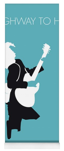 No065 My Acdc Minimal Music Poster Yoga Mat