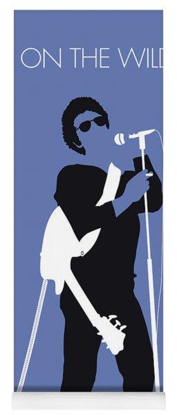 No068 My Lou Reed Minimal Music Poster Yoga Mat