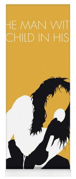 No104 My Kate Bush Minimal Music Poster Yoga Mat
