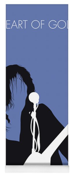 No128 My Neil Young Minimal Music Poster Yoga Mat