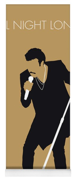 No130 My Lionel Richie Minimal Music Poster Yoga Mat