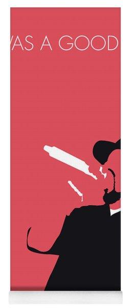No132 My Ice Cube Minimal Music Poster Yoga Mat