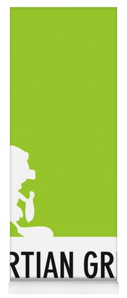 No15 My Minimal Color Code Poster Marvin Yoga Mat
