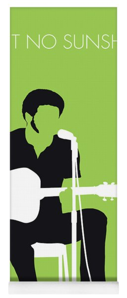 No156 My Bill Withers Minimal Music Poster Yoga Mat