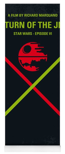 No156 My Star Wars Episode Vi Return Of The Jedi Minimal Movie Poster Yoga Mat
