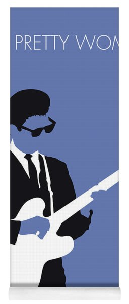 No158 My Roy Orbison Minimal Music Poster Yoga Mat