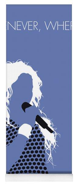 No168 My Shakira Minimal Music Poster Yoga Mat