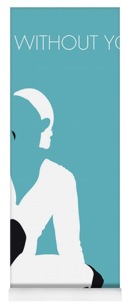 No185 My Maryjblige Minimal Music Poster Yoga Mat