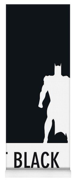 No20 My Minimal Color Code Poster Batman Yoga Mat