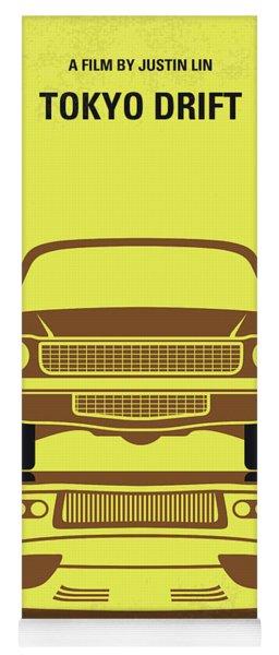 No207-3 My Tokyo Drift Minimal Movie Poster Yoga Mat