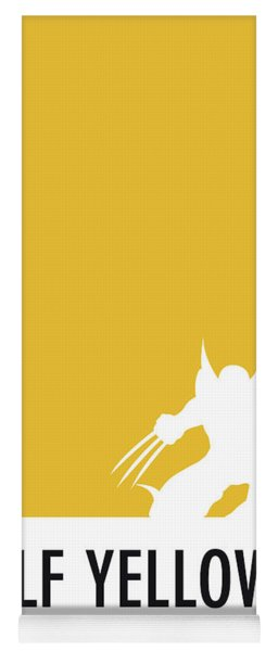 No21 My Minimal Color Code Poster Wolverine Yoga Mat