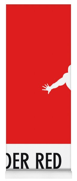 No24 My Minimal Color Code Poster Spiderman Yoga Mat