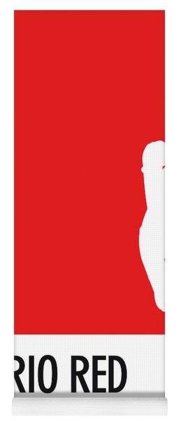 No33 My Minimal Color Code Poster Mario Yoga Mat