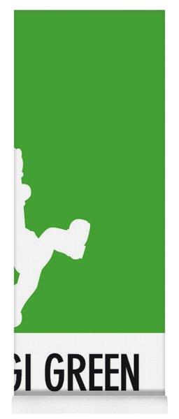 No34 My Minimal Color Code Poster Luigi Yoga Mat