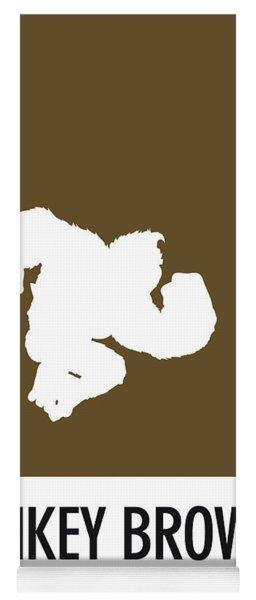 No37 My Minimal Color Code Poster Donkey Kong Yoga Mat