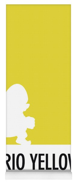 No43 My Minimal Color Code Poster Wario Yoga Mat