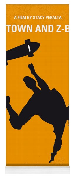 No450 My Dogtown And Z-boys Minimal Movie Poster Yoga Mat